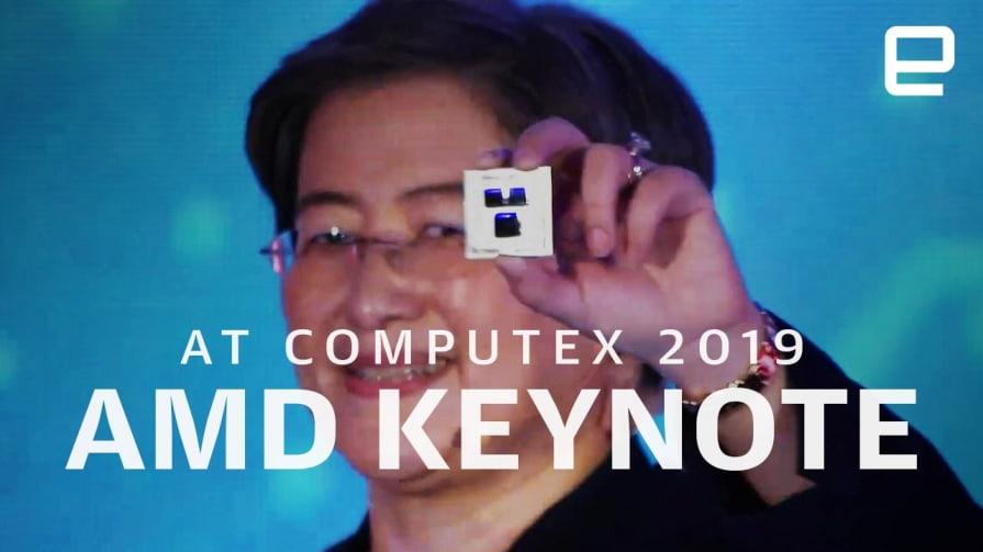 AMD Keynote at Computex 2019 in 9 minutes