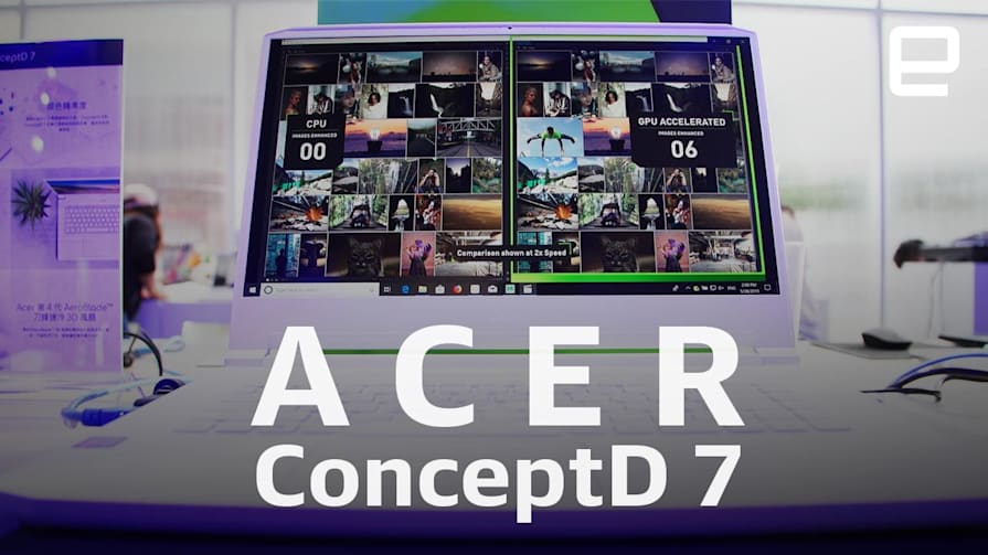 Acer ConceptD 7 Hands-On at Computex 2019