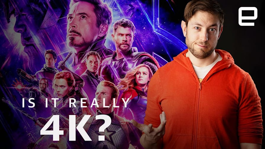 Why your Avengers UHD BluRays aren't actually 4K | Upscaled