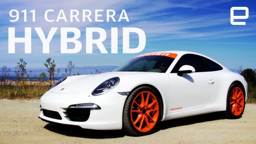 Porsche 911 Carrera hybrid with Vonnen Shadow Drive Hands-On: Just make it faster