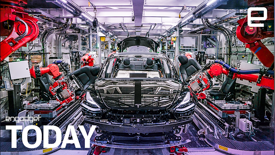 Tesla workers say they used electrical tape in Model 3 production   Engadget Today