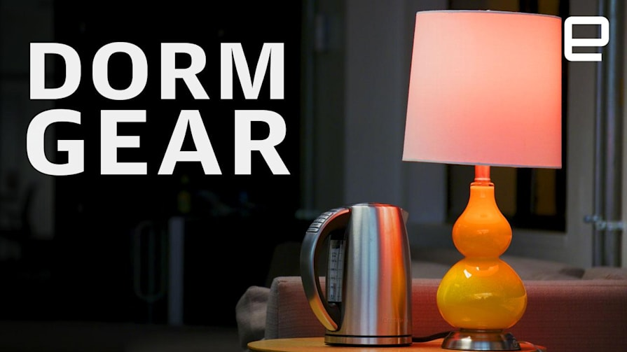 Gear you need for your dorm room