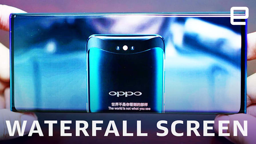 'Waterfall' screens might be the next big trend in bezel-less phones