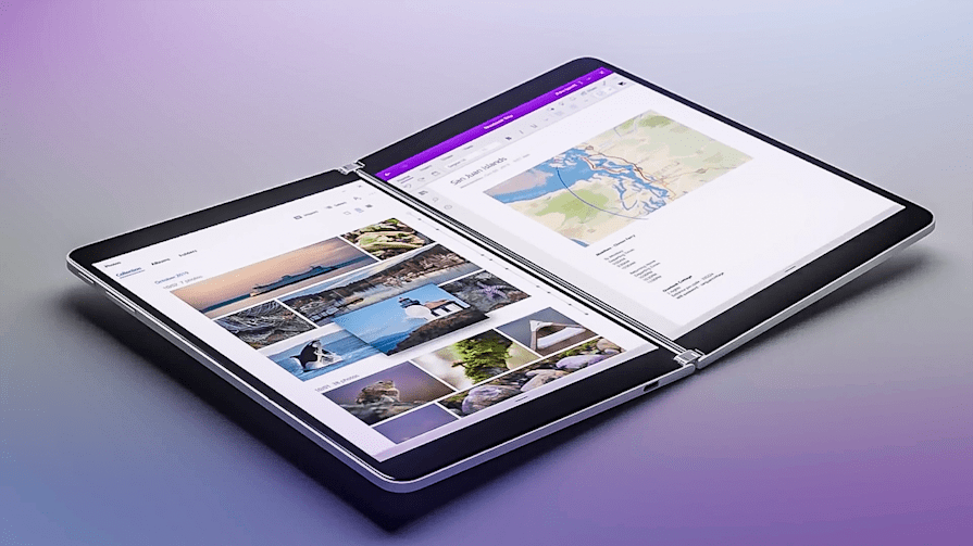 Microsoft is right: Dual displays are a safer bet than folding screens
