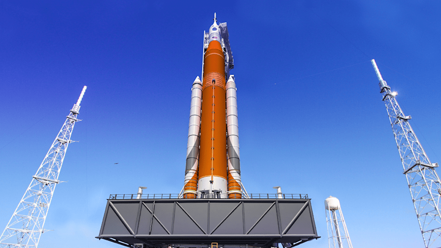 NASA unveils 'the most powerful rocket ever built'