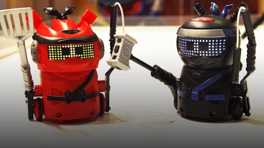 Spin Master's Ninja Bots at Toy Fair 2020