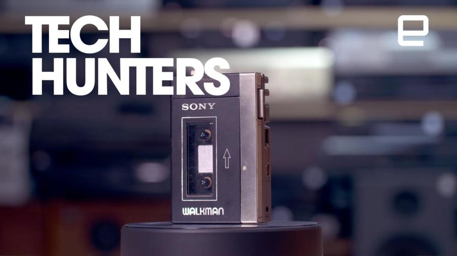 Tech Hunters: Play My Jam With The Sony Walkman