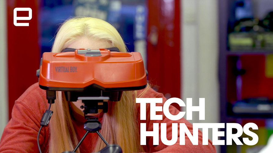 Tech Hunters: Entering New Worlds With Virtual Boy
