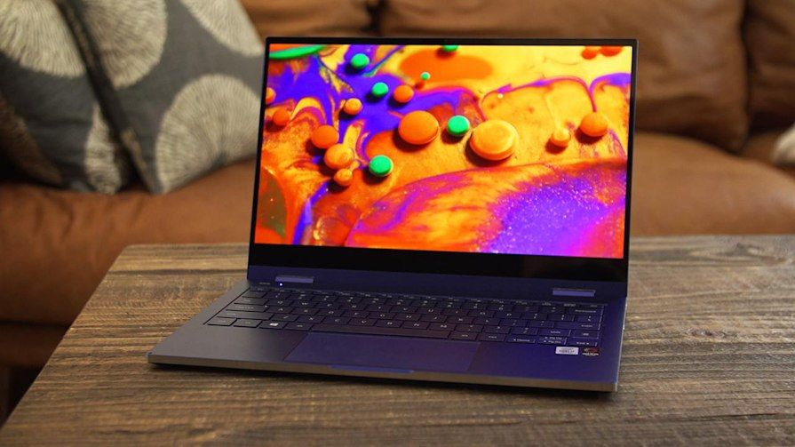 Galaxy Book Flex review script: A pricey but capable QLED laptop