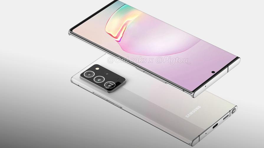 Samsung Galaxy Note 20 leaks: Big screen, big cameras