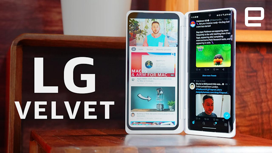 LG Velvet hands-on: a fun dual-screen phone that's not entirely gimmicky