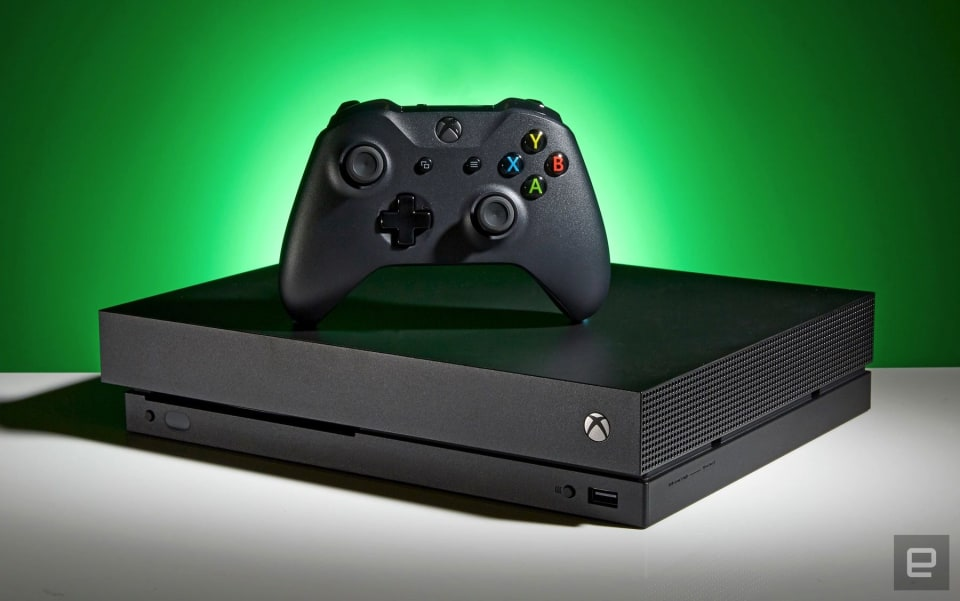 XBOX ONE X - cover