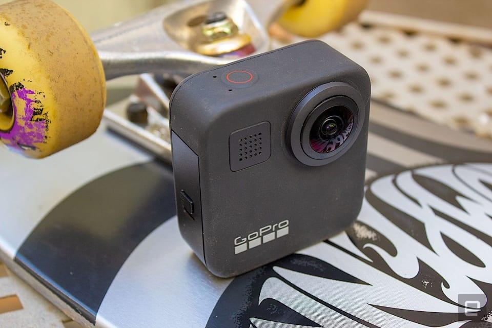 GoPro Max update.