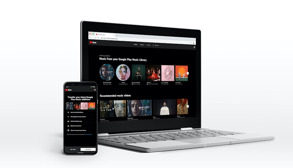YouTube Music transfer tool