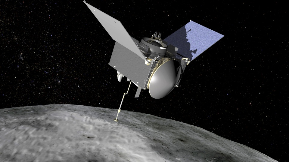 The Origins, Spectral Interpretation, Resource Identification, Security-Regolith Explorer (OSIRIS-REx) spacecraft which will travel to the near-Earth asteroid Bennu and bring a sample back to Earth for study is seen in an undated NASA artist rendering.   NASA/Handout via Reuters  THIS IMAGE HAS BEEN SUPPLIED BY A THIRD PARTY. IT IS DISTRIBUTED, EXACTLY AS RECEIVED BY REUTERS, AS A SERVICE TO CLIENTS. FOR EDITORIAL USE ONLY. NOT FOR SALE FOR MARKETING OR ADVERTISING CAMPAIGNS