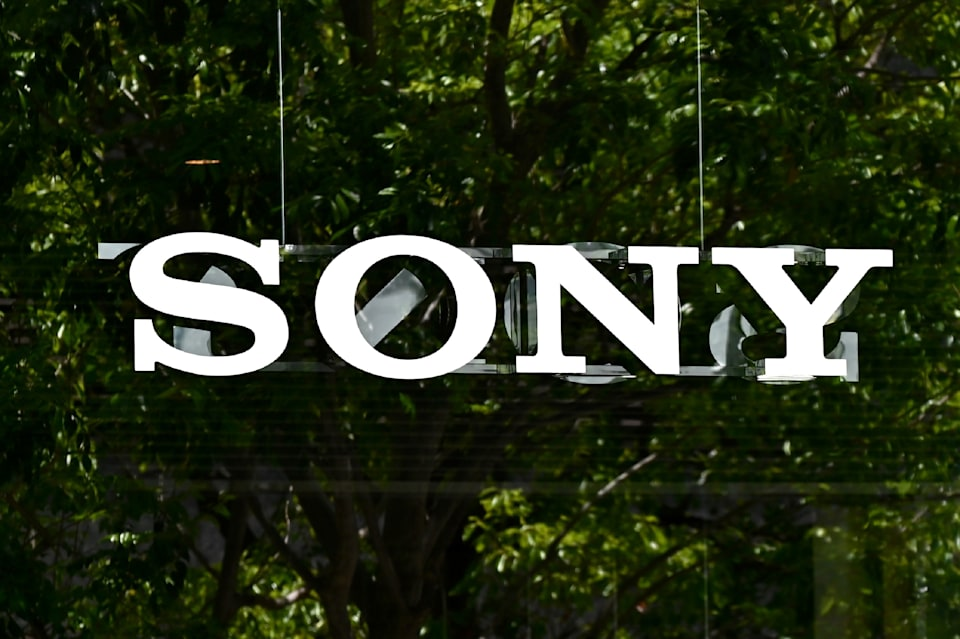 A Sony logo is displayed near the company's headquarters in Tokyo on May 13, 2020. (Photo by CHARLY TRIBALLEAU / AFP) (Photo by CHARLY TRIBALLEAU/AFP via Getty Images)