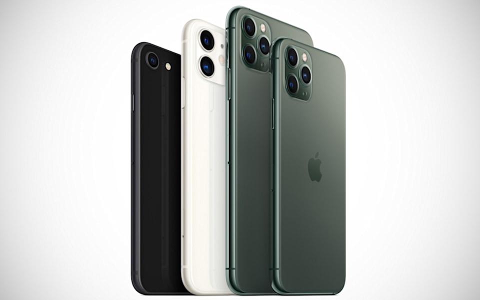 Early 2020 iPhone lineup