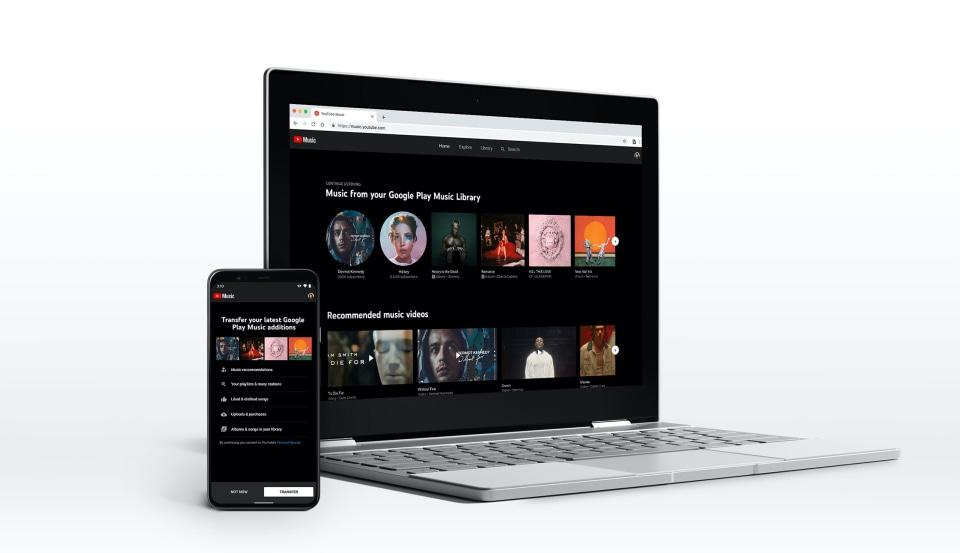 YouTube Music transfer tool