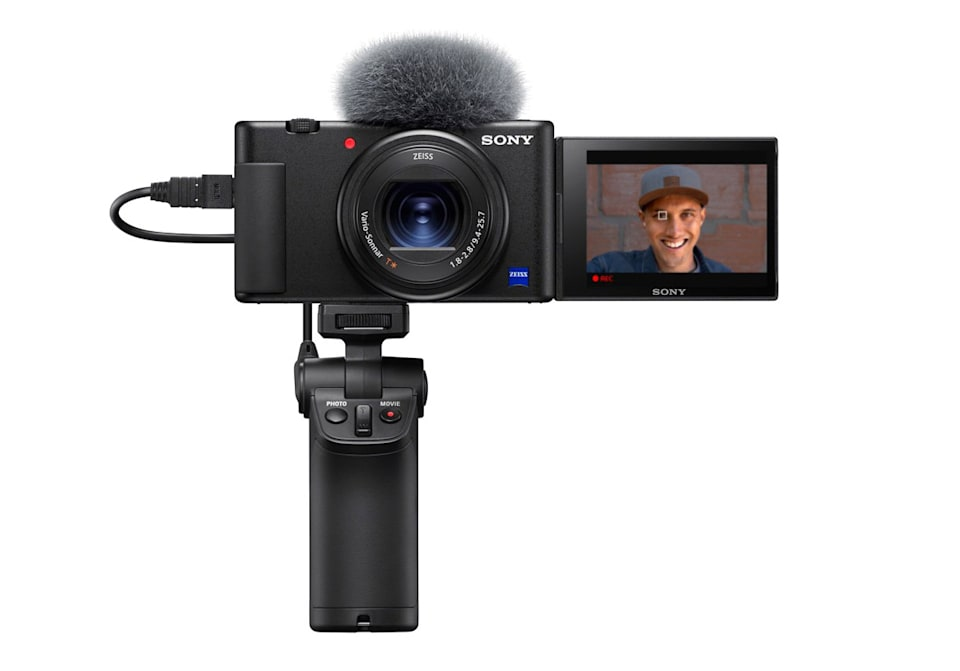 Sony ZV-1 blogging compact camera