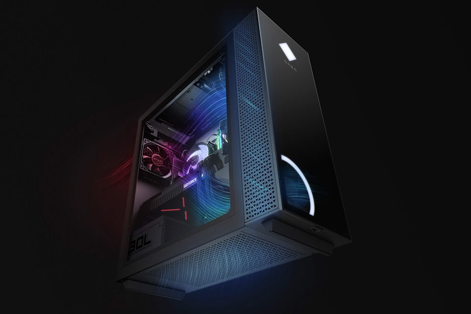 HP Omen 30L gaming desktop PC