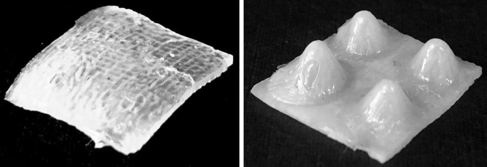 3D-printed shapeshifting material