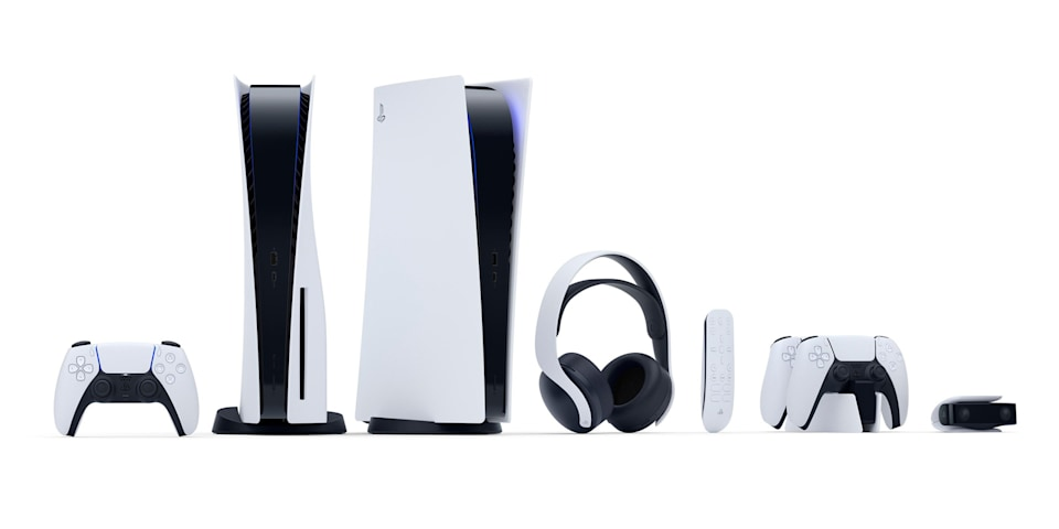 Sony PlayStation 5 and accessories