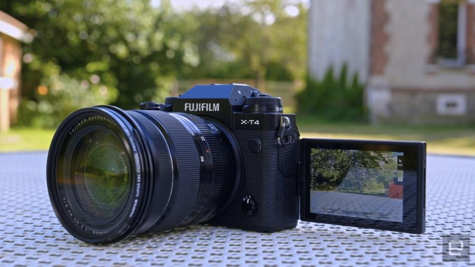 Fujifilm X-T4 mirrorless camera review