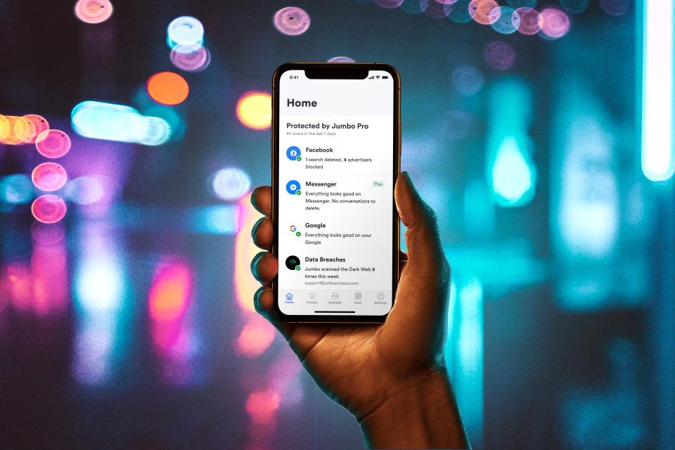 Jumbo's privacy app.