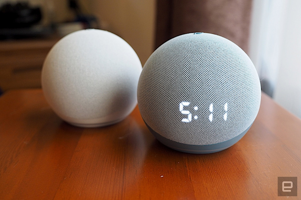 Amazon Echo Dot and Echo Dot with Clock (2020)
