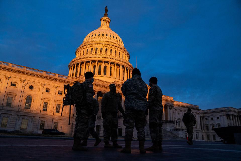 US Capitol riots.