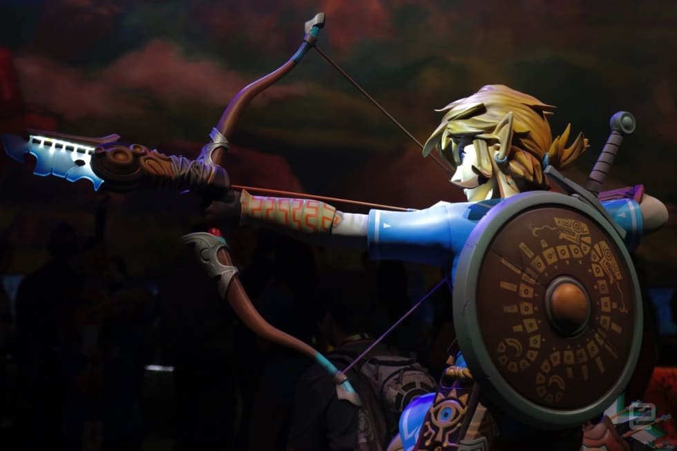 Nintendo's E3 2016 Legend of Zelda booth