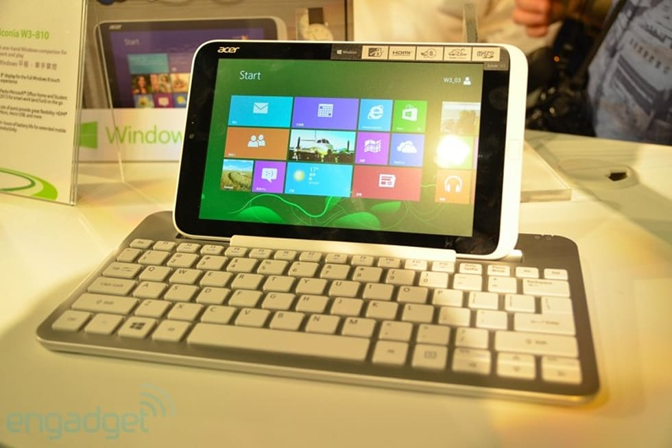 Acer Iconia W3 動手玩