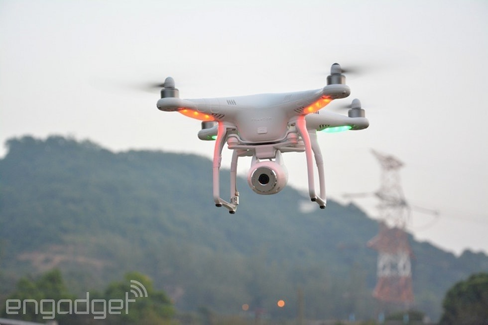 DJI's Phantom 2 Vision takes a stabilized camera to the sky