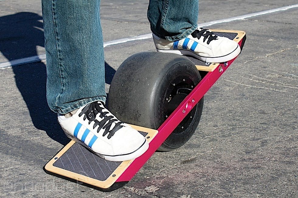 Gallery The Onewheel Self Balancing Single Wheeled Skateboard At Ces 17 Photos