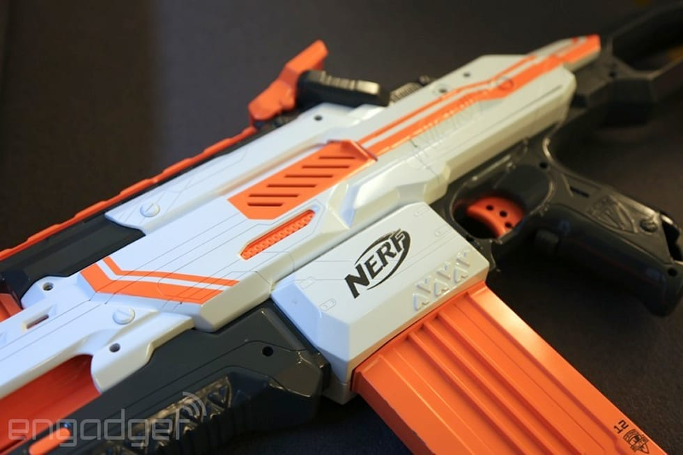 Gallery: N-Strike Elite NERF Cam ECS-12 Blaster hands-on | 20 Photos