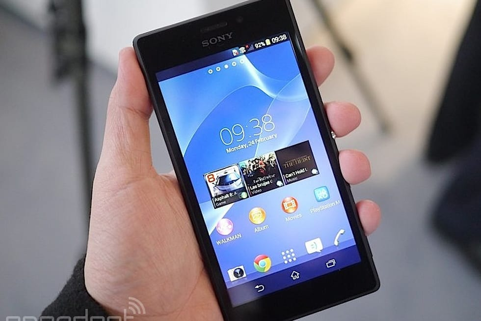 SONY Xperia M2 中文動手玩