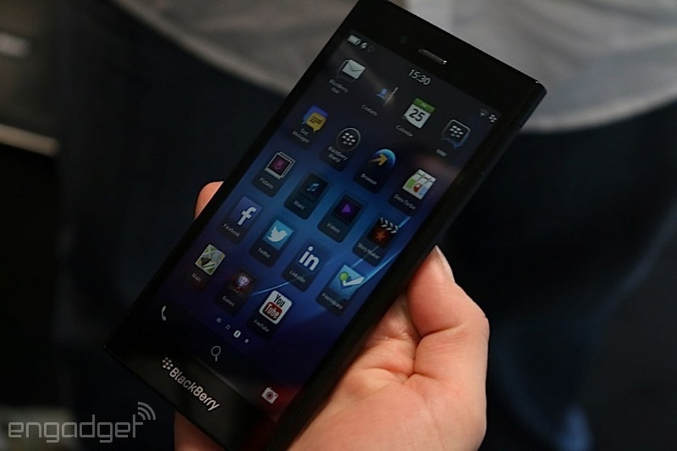 BlackBerry Z3 hands-on