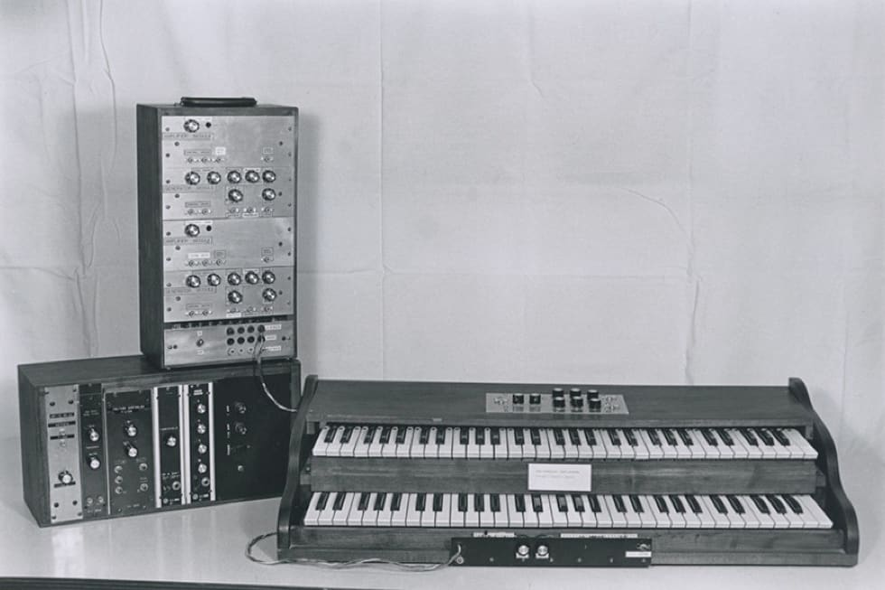 Moog Synthesizer Timeline
