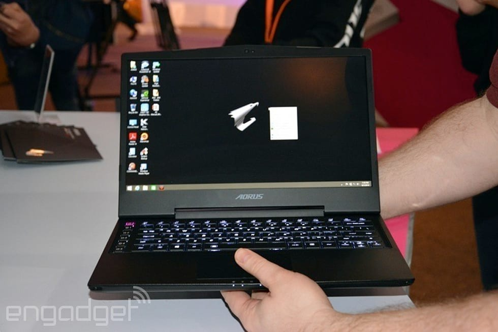 Gigabyte AORUS X3 Plus hands-on