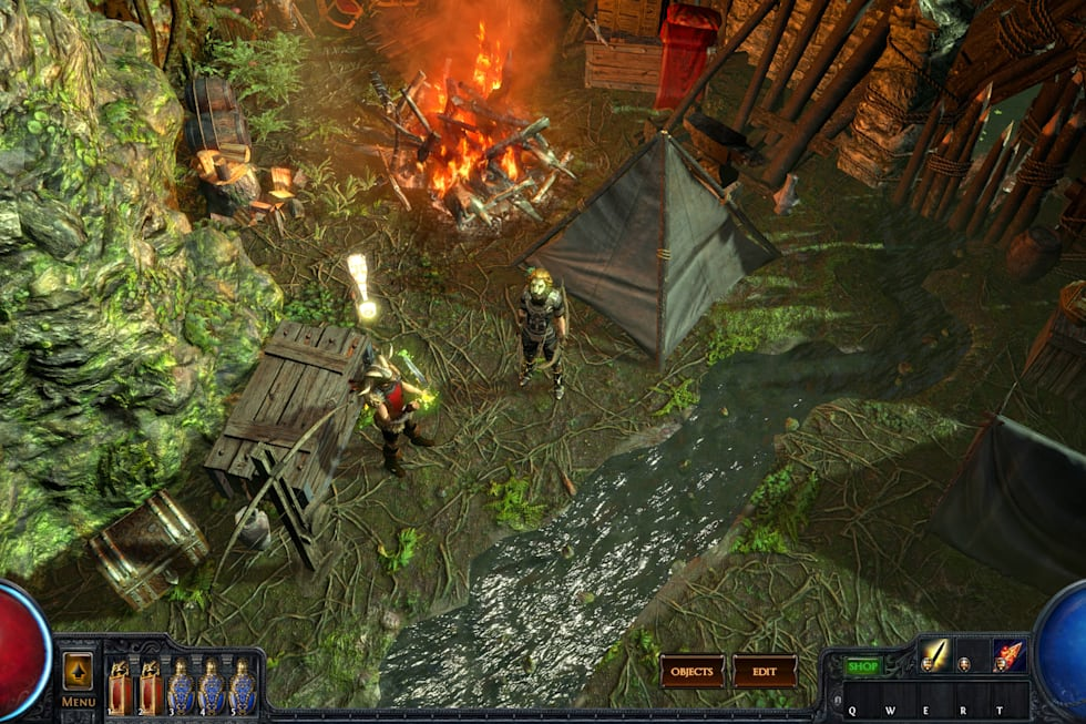 Massively Exclusive: Previewing Path of Exile's Tora, Master