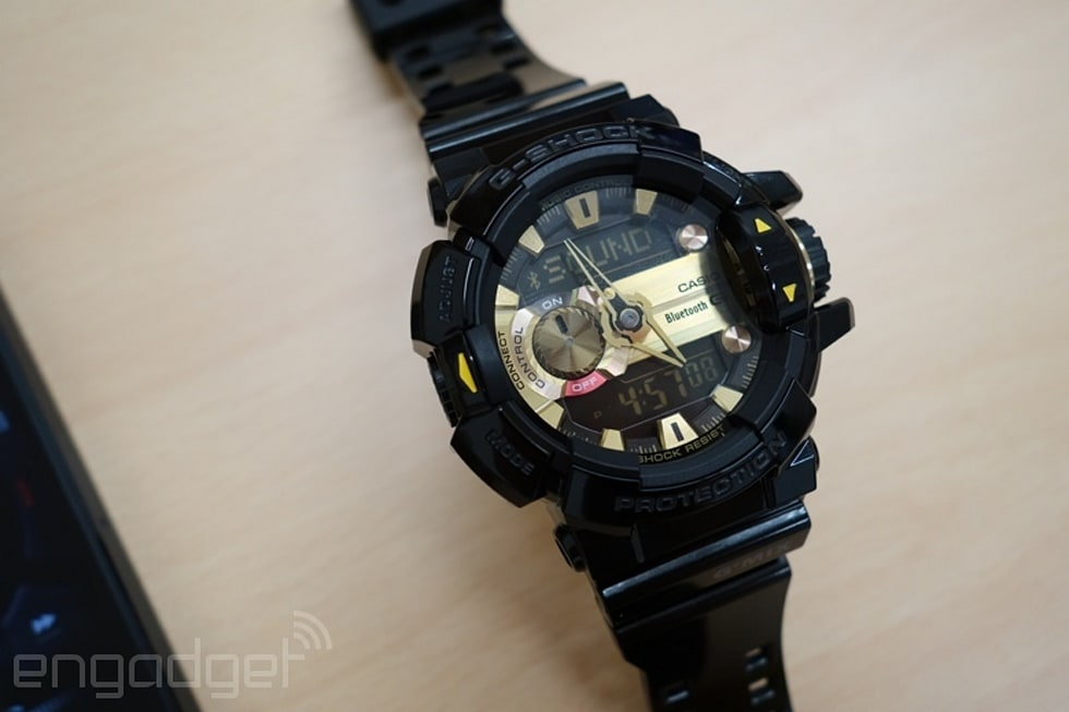 09bd3609edd9 Casio s newest G-Shock has a giant dial for (complicated) music control