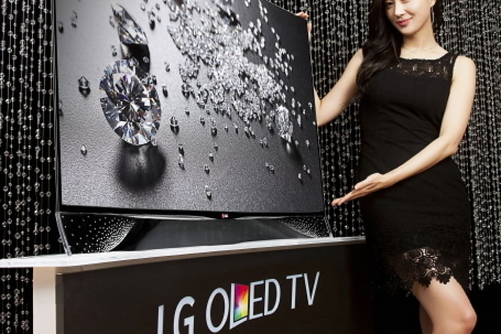 LG OLED HDTV with Swarovski Crystals