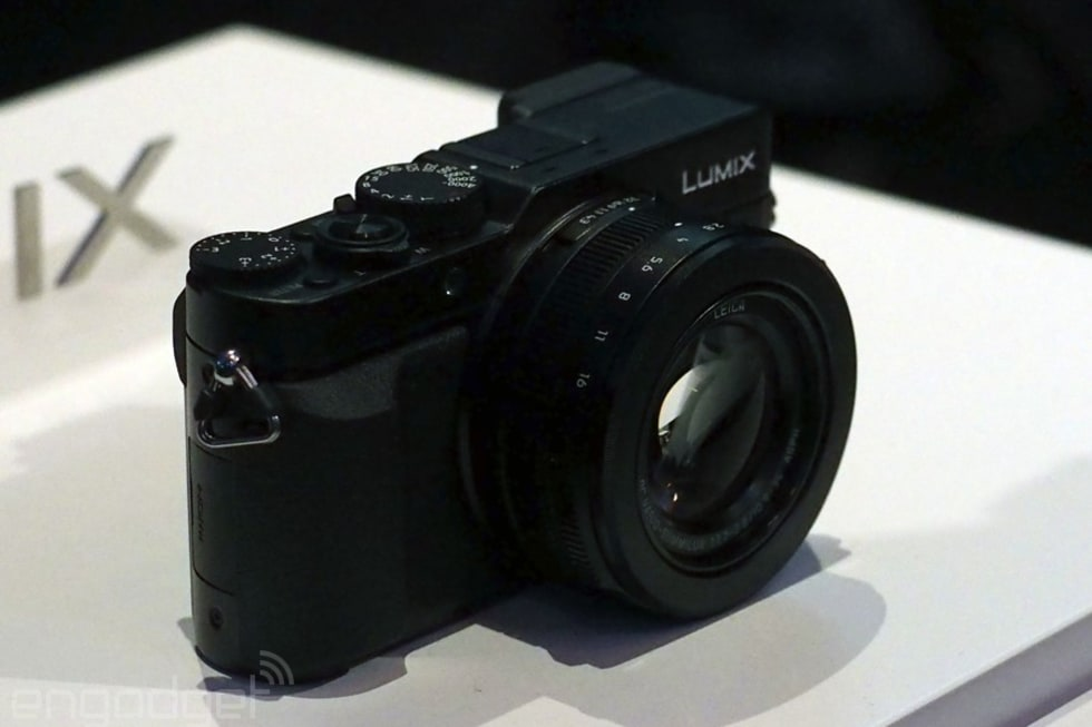 Panasonic Lumix LX100 compact hands-on