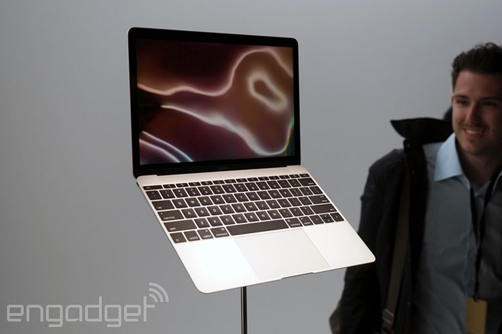 Hands-on with the new MacBook