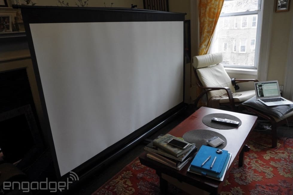 Gallery Fitting A 100 Inch Projector In An Apartment