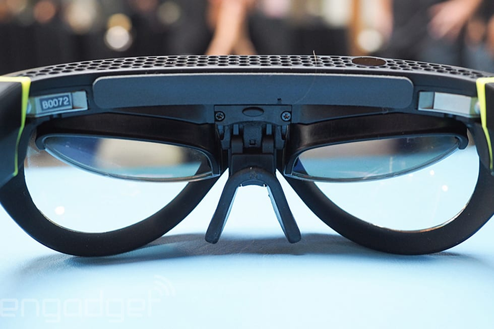 13ee7f2b14c4 Mini s weird-looking AR goggles are actually useful
