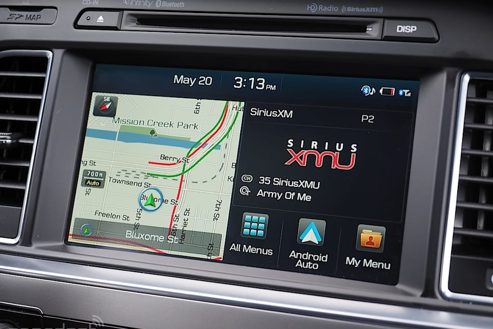 Gallery Android Auto In A 2017 Hyundai Sonata With Navigation 28 Photos