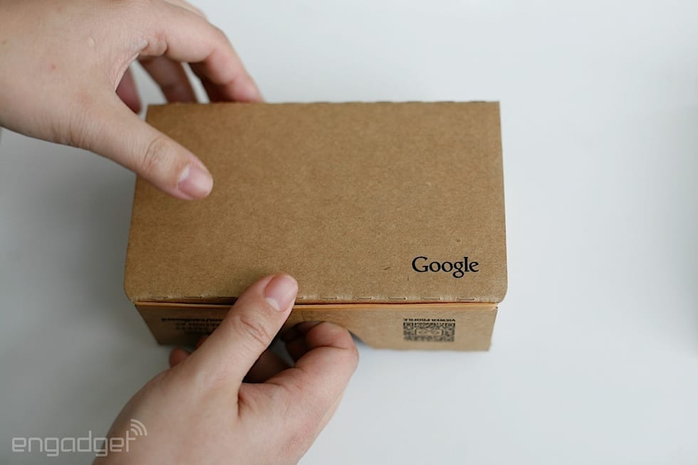 Google Cardboard (second-gen)