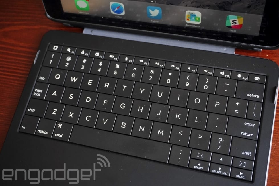 huge discount 4265a f27d9 Ryan Seacrest's iPad keyboard is surprisingly good, but expensive