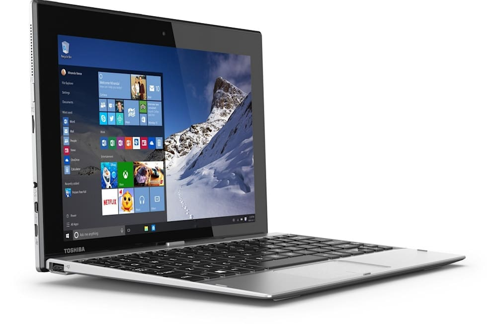 Toshiba Satellite Click 10 press images